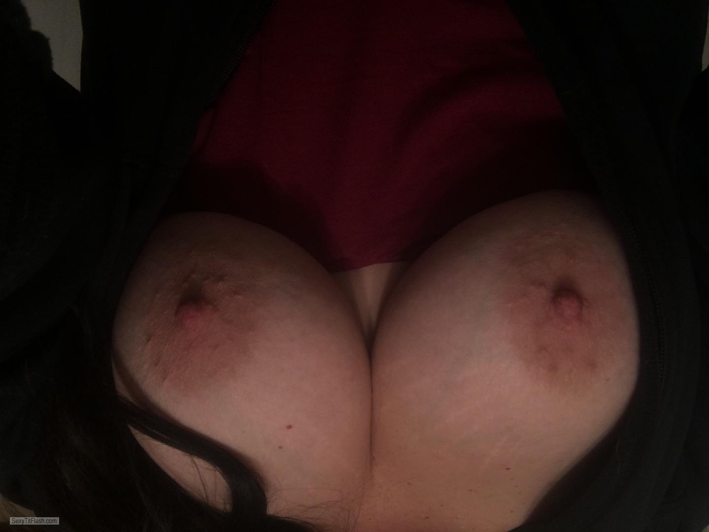 My Big Tits Topless Selfie by Sexy Slut Shan